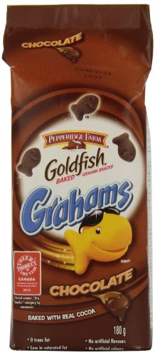 Pepperidge Farm Goldfish Chocolate Graham Crackers, 180 gm