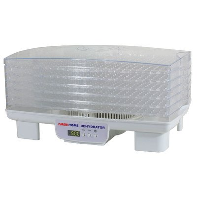 AmeriHome FD6 6-Tray Electric Food Dehydrator by Buffalo tools - Kitchen