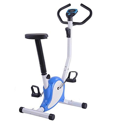 AW-Blue-Exercise-Bike-Fintess-Cycling-Machine-w-LCD-Display-Personal-Gym-Cardio-Aerobic-Equipment