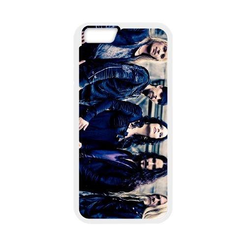 "Anette olzon imaginariumwide iPhone 6 Plus 13,97 cm (5,5"") 602KAR216851-Custodia per cellulare, colore: bianco"