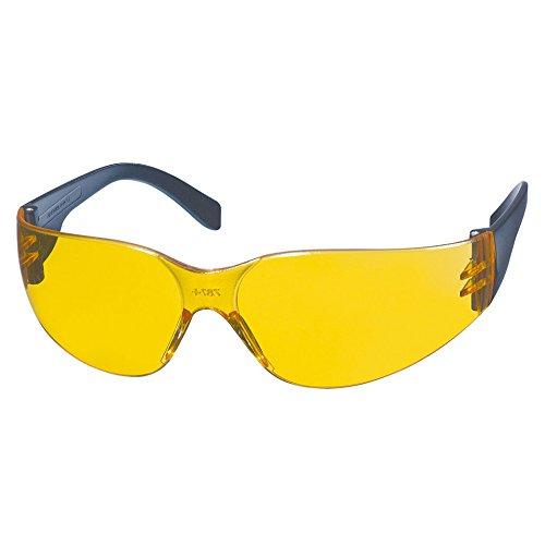 KWB-49378610-Schutzbrillen-CD-Rahmen-gelb-Objektiv-Anti-Fog-Polycarbonat-UV-400-Schutz-optischer-Grad-1