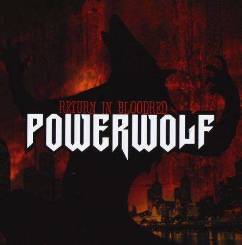 Return in bloodred by Powerwolf (2005) Audio CD
