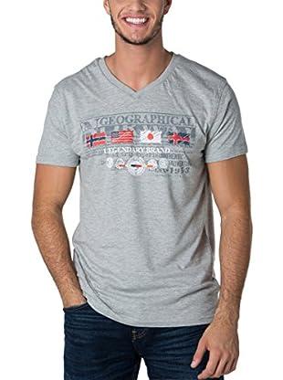 Geographical Norway Camiseta Manga Corta Snht (Gris)