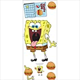 Blue Mountain Wallcoverings GAPP1829 SpongeBob Giant Wall Sticker