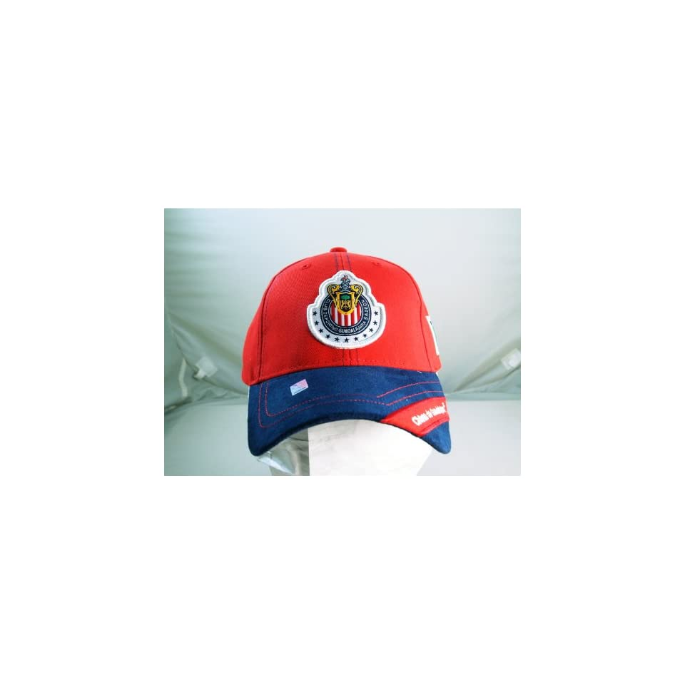 CHIVAS de GUADALAJARA OFFICIAL TEAM LOGO CAP / HAT   CV016