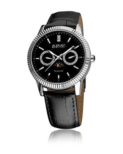 August Steiner Reloj de cuarzo AS8051BK Negro 39.5 mm