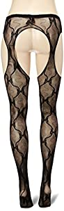 Leg Avenue Women's Lace Suspender Hose
