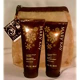 Mary Kay Ginger Spice Wishes Bath & Body Set In Gift Bag W Tag ~ Ginger Spice Wishes Shower Gel & Body Lotion...