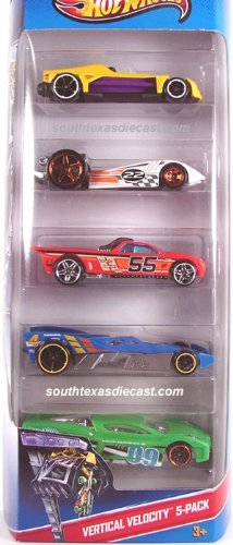 Hot Wheels Vertical Velocity-5 Pack (X9845)