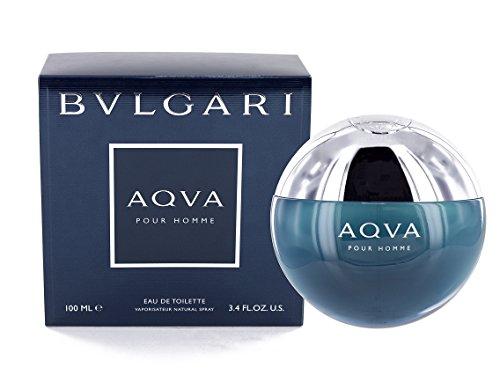 Bvlgari Aqva Pour Homme Eau de Toilette, Uomo, 100 ml