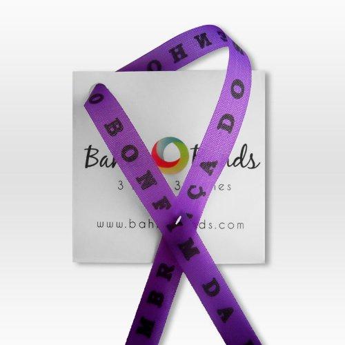 Bahia Band - Violet Brazilian Wish Bracelet