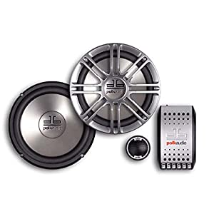Polk Audio DB6501 6.5-Inch 2-Way Component Routine (Pair, Silver)