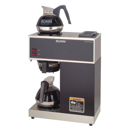BUNN VPR Commercial 12-Cup Pour-Over Coffee Brewer, with 2 Warmers Best Deals
