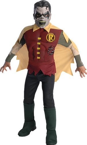 DC Comics Blackest Night Zombie Robin Costume