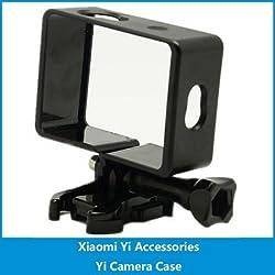 Generic New Border Frame Mount Protective case Housing Xiaomi xiaoyi YI Camera | Black