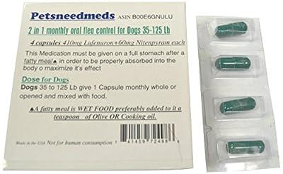 Dog Broad Spectrum (2in1) Flea Control oral Capsules