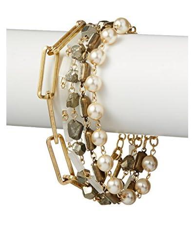 David Aubrey Hadrien Multi-Strand & Multi-Stone Bracelet
