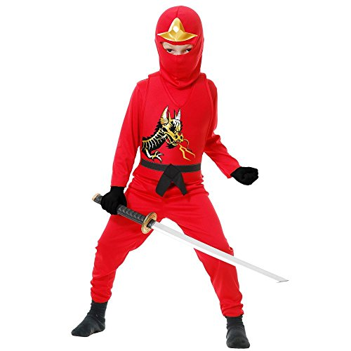 Big Boys' Ninja Avengers Series Ii Red Costume
