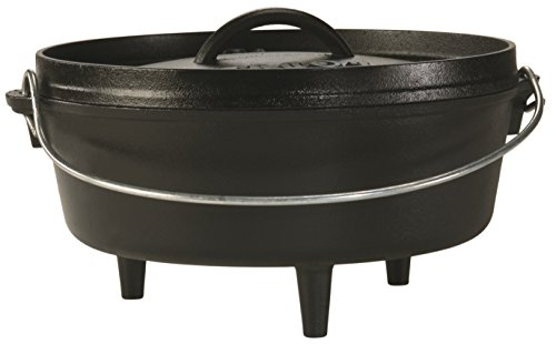 Lodge L10CO3 Logic 4-Quart Cast-Iron Camp Dutch Oven