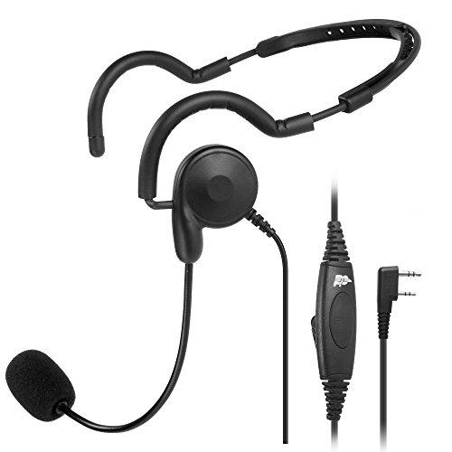 2-pin-ptt-mic-headphone-headset-earpiece-for-baofeng-uv-5r-kenwood-wouxun-radio
