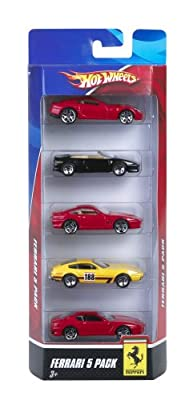 Hot Wheels Ferrari 5-Pack - Styles May Vary