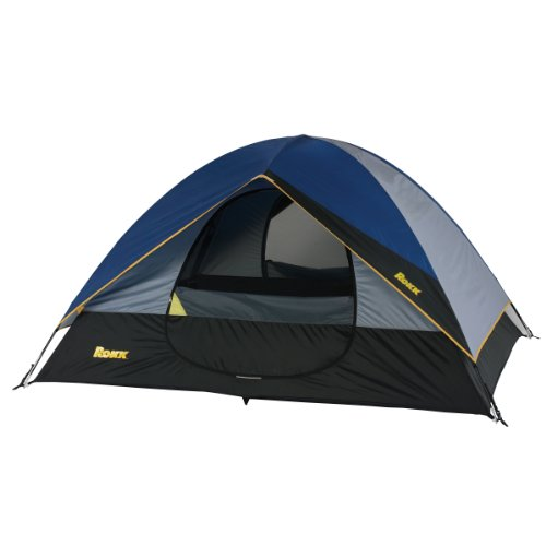 Rokk Senca Rock Sport Dome Tent Sleeps Up To 4 (Blue/Grey), Outdoor Stuffs