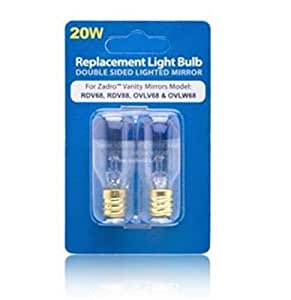 buy zadro 20 watt replacement light bulb for zadro vanity mirrors online at low prices in india. Black Bedroom Furniture Sets. Home Design Ideas