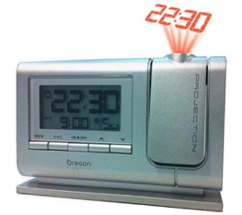 Oregon Scientific Orologio Sveglia Digitale RM308P silver