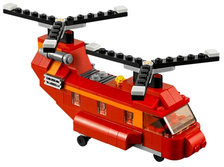 Legos Helicopter pic
