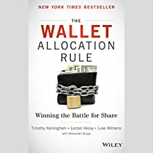 The Wallet Allocation Rule: Winning the Battle for Share (       UNABRIDGED) by Timothy Keiningham, Lerzan Aksoy, Luke Williams, Alexander Buoye Narrated by Christopher Kipiniak