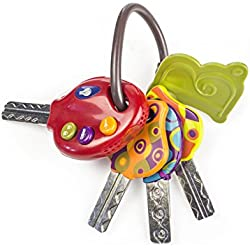 B. Toys 44174 - LucKeys - Babyschlüssel, Tomato