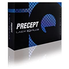 Precept Lady IQ Plus Golf Balls, 2011 Model (12 Pack) by Bridgdestone Golf