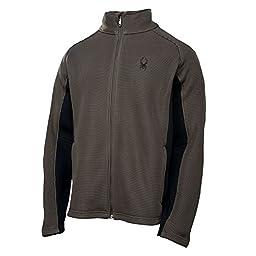 Spyder Men\'s Foremost Full Zip Jacket, Osetra, X-Large
