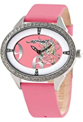 Ed Hardy Showgirl Butterfly Pink Dial Women's watch #SG-BF