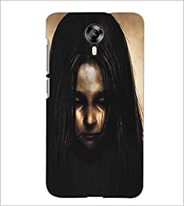 MICROMAX CANVAS XPRESS 2 E313 ANGRY GIRL Designer Back Cover Case By PRINTSWAG