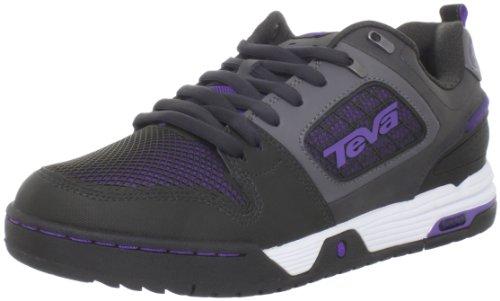 Teva Links 8715, Scarpe outdoor multisport donna, Nero (Schwarz/ultra violet), 41.5