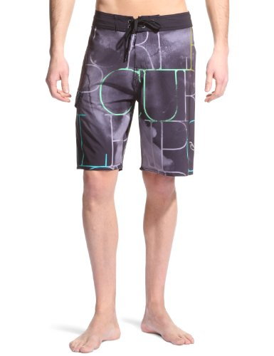 Rip Curl Mirage Flex Nebula Board Men's Shorts Black W30 IN