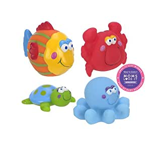 babies r us under the sea bath squirtees bathtub toys baby. Black Bedroom Furniture Sets. Home Design Ideas