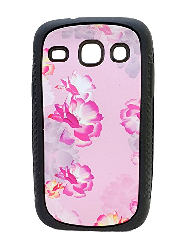 iCandy™ Rubber Printed matt soft Back Cover For Samsung Galaxy Core Duos I8262 - FLOWER  available at amazon for Rs.109