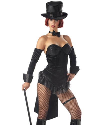 California Costume Ringmaster Costume (Boots, Cane and Stockings not included.)