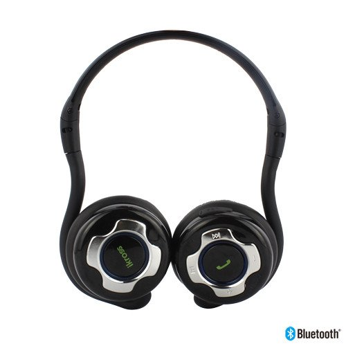 41lT%2BhxWPjL iKross A2DP Bluetooth Stereo Headphone Headset with Black Carrying Case   Supports Wireless Music Streaming and Hands Free calling