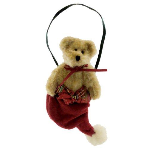 Boyds Bears Tartenbeary Plush Ornament – Billy Bear – 5″