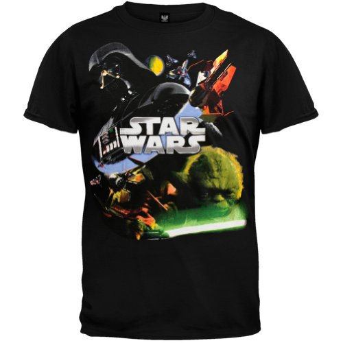 Star Wars - Attack Youth T-Shirt - Youth X-Small