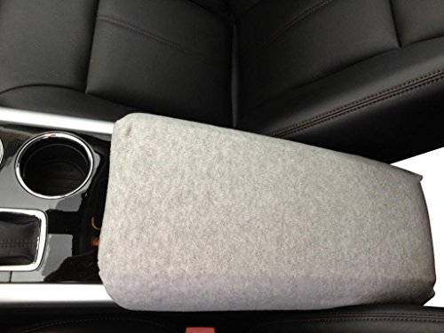 Toyota Camry 2006-2012 Car Auto Center Console Armrest Cover Protects from Dirt and Damage Renews old damaged consoles - Light Gray (Center Console Lid Camry compare prices)