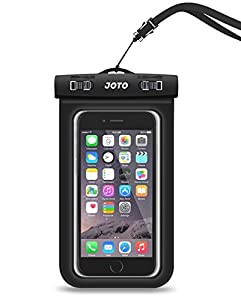 Joto Universal Waterproof Case for Apple iPhone 6S, 6,6S Plus, 5S, Samsung Galaxy S7, S6 Note 5, 4, HTC, LG, Sony, Nokia, Motorola up to 6.0