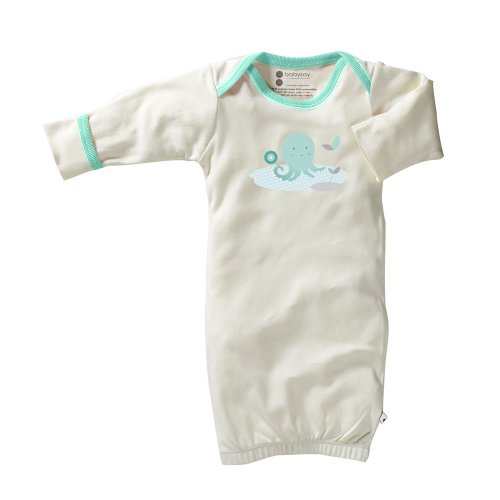 Baby Soy Illustrated Organic Bundler (3-6 Months, Octopus)
