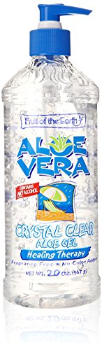 Aloe Vera Crystal Clear Gel 20 oz