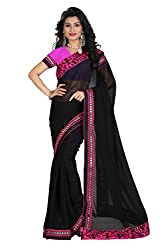 Gokul Vastra Saree (Pack of 10) (P-KT-3084_10_Black )