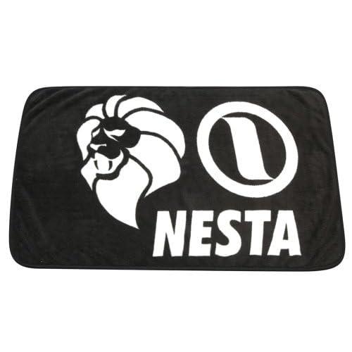 NESTA BRAND オリジナルブランケット ブラック×ホワイト NNZ-68-01