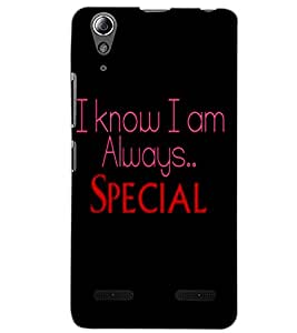 LENOVO A6000 PLUS SPECIAL Back Cover by PRINTSWAG